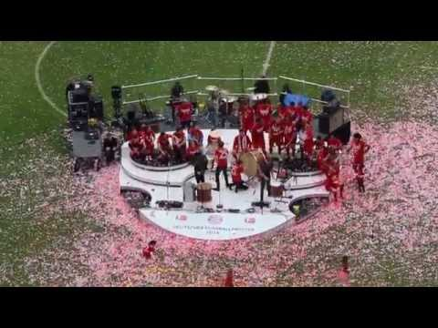 Imagine Dragons - Radioactive - FC Bayern Meisterfeier 2015 - Allianz Arena