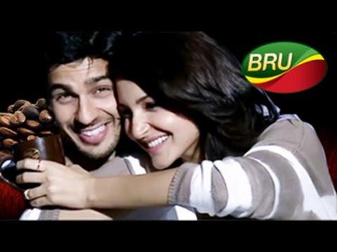 Anushka Sharma & Sidharth Malhotra's Hot Chemistry In Bru Ad – Bollywood News video