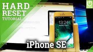 APPLE iPhone SE Hard Reset / Bypass Passcode / Recovery Mode / Format