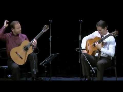 Manuel Herrera y Marcelo de la Puebla interpretan Flamencos de la feria de R. Riqueni