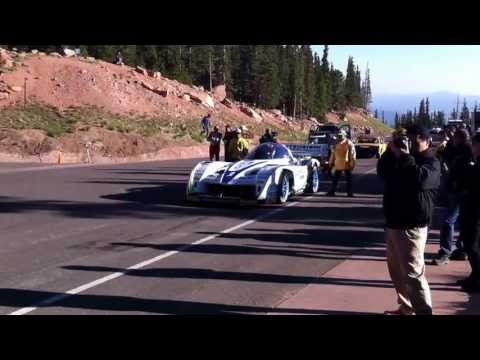 Matt Saunders' Pikes Peak video blog: Monster Tajima's E-Runner Special launches off the start line, competing in the Unlimited class. SUBSCRIBE to Autocar: ...