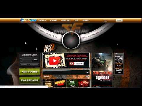 Tutorial Crossfire PH Free VIP eCoin CHAR