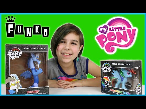 My Little Pony - Discord And Rainbow Dash Hot Topic Exclusive Review video