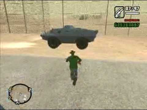 Gta san andreas: Secret vehicles !!!