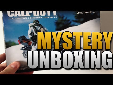 Call of Duty Megabloks Unboxing (Mystery Box #3)