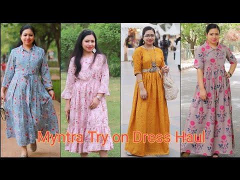 Myntra Dress haul| Affordable Myntra Haul|| Myntra midi & Maxi dresses | Best Myntra Haul