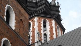 Kraków - Hejnał z wieży Mariackiej