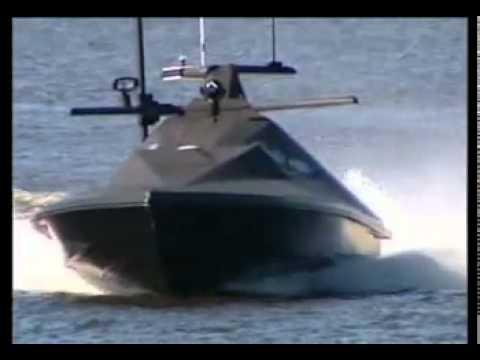 Surface Vessel USV جديد وخطير قارب غواصة مضاد للسفن