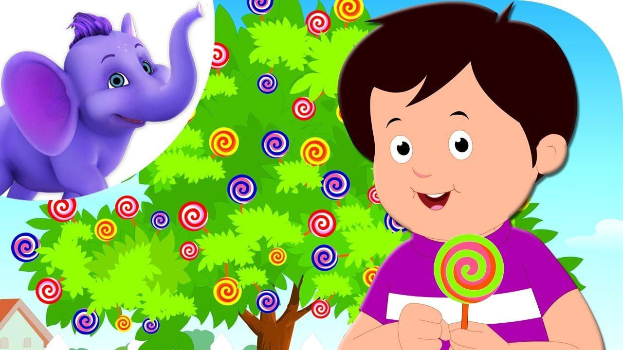 My Lollipop Tree Nursery Rhyme With Karaoke Youtube