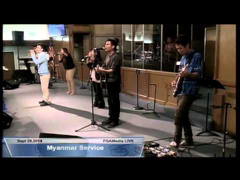 Sept 28,2014 Myanmar Service Praise and Worship