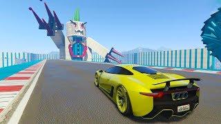 UN MONSTRUO GIGANTE!! SOCORRO! - CARRERA GTA V ONLINE - GTA 5 ONLINE