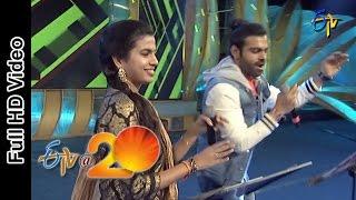 Sreeram Chandra and Sravana Bhargavi Performs - Bhel Puri Song in Rajamandry ETV @ 20 Celebrations