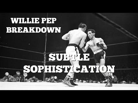 Willie Pep: Subtle Sophistication