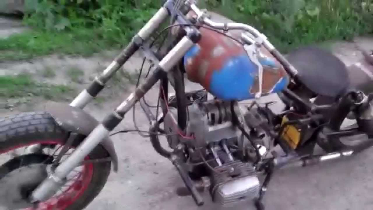 Мотоцикл своими руками ютуб 51