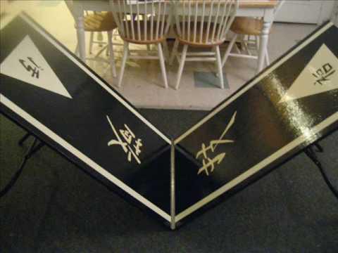 Foldable Custom Beer Pong Table Youtube