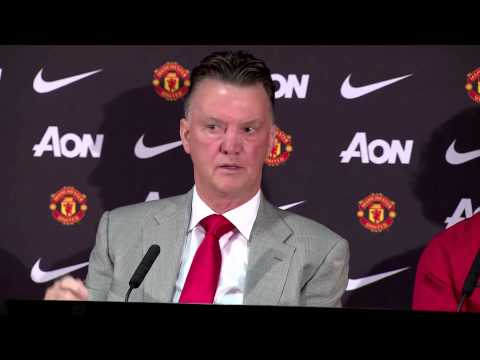 Louis van Gaal defends Man United's youth policy & selling Danny Welbeck to Arsenal