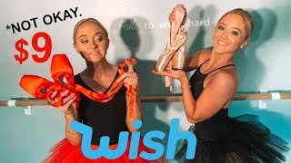 Buying New Pointe Shoes From WISH!!!