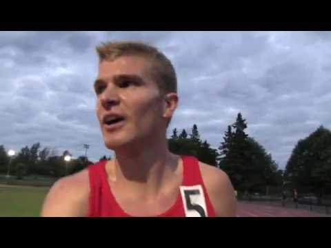 Tommy's Personal Best 4:11 1500m at Ottawa Twilight Meet June 22 2016