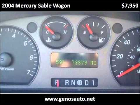 2004 Mercury Sable Wagon Used Cars Chestertown MD