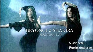 Beyoncé & Shakira - Beautiful Liar [Lyrics]