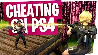 I cheated on Fortnite, I'm a scumbag... Keyboard & Mouse on PS4