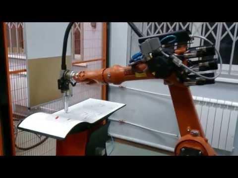 Робот Kuka в учебном центре