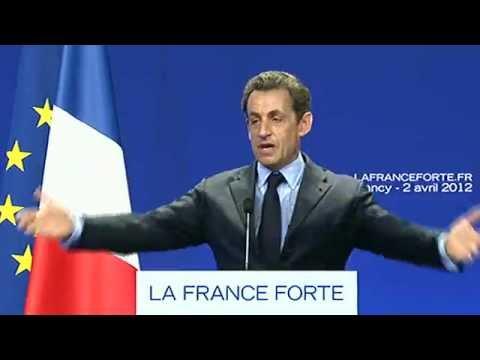 Discours de Nicolas Sarkozy à Nancy