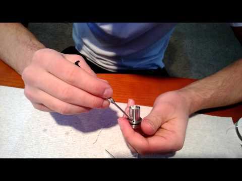 Kayfun Lite (or Lite+) Silica Wick Rebuild - Tutorial