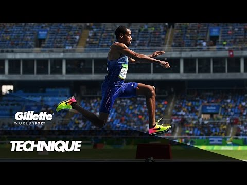 Triple Jump Technique with Olympian Christian Taylor | Gillette World Sport