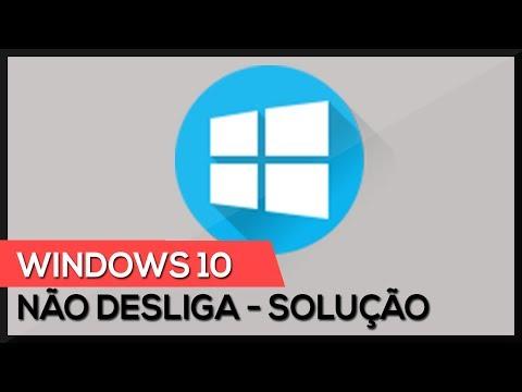 Windows 10 não desliga ! Como resolver !