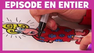 Art Attack - La technique du même pas peur - Disney Junior - VF