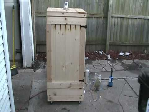 Homemade smoker youtube - Building your own brick smokehouse in easy steps ...