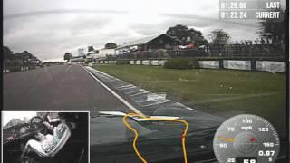 Goodwood Revival TT onbord Rob Huff Quali Sumbeam Lister Tiger