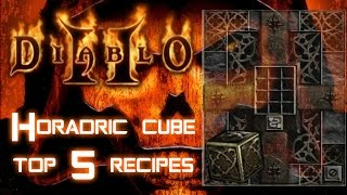 Horadric Cube 5 Top Recipes - Diablo 2 - Xtimus