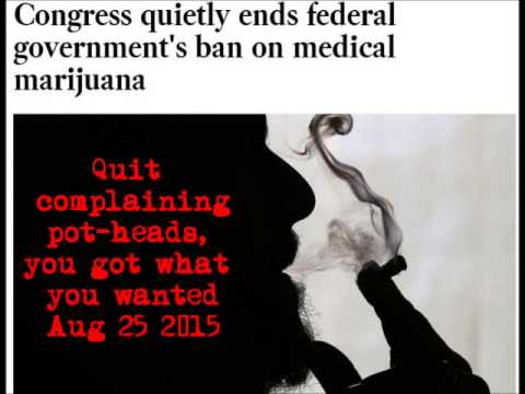 Medical Marijuana legal in the USA Aug 25, 2015. Cough [Vine]- Potheads got what they wanted.