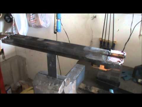 Diy Sheet Metal Bender Homemade Sheet Metal Brake Youtube