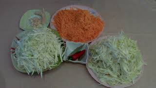 Квашеная капуста без соли+ полезны капустный квас с витамином Б12))