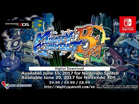 Mighty Gunvolt Burst - Official Trailer