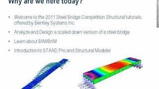 Bentley STAAD.Pro & Structural Modeler Tutorial Series