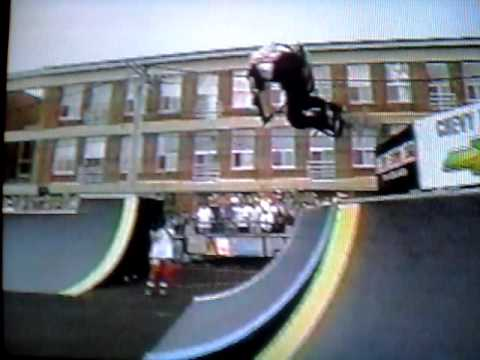 jay miron bmx street prelim run #1 , 1996 xgames 2 Video