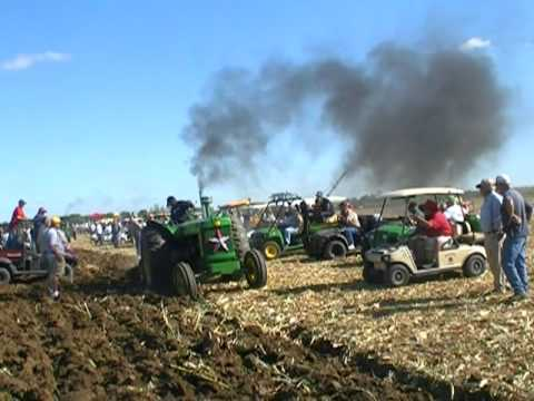 MOLBOARD PLOWING AT THE 2011 HALF CENTURY OF PROGRESS RANTOUL, IL PART 1