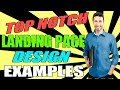 Landing Page Examples - Top Squeeze Page Design Examples