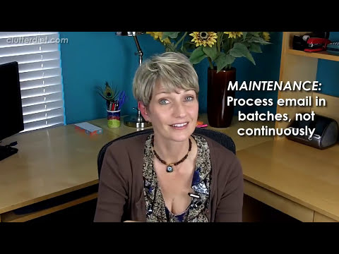 Clutter Video Tip: 7 Ways to Tame Your Email Inbox