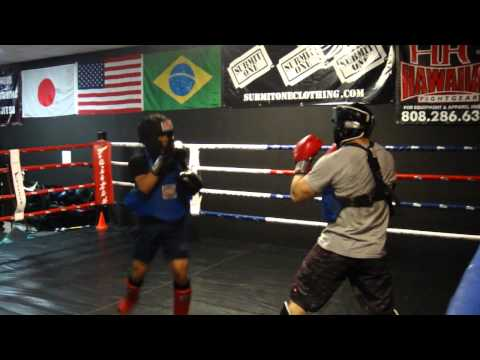 17-year-old fighter's Muay Thai Kick Boxing Sparring, Striking Unlimited MMA Gym Las Vegas Image 1
