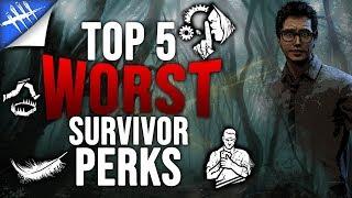 Top 5 Worst Survivor Perks Updated - Dead by Daylight