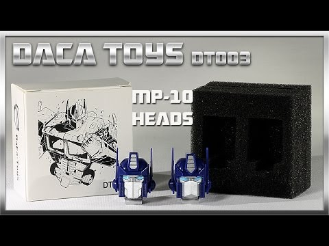 DaCa Toys DT003 MP-10 Optimus Prime Heads Transformers Masterpiece 3rd party
