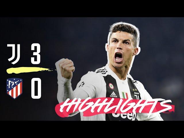 HIGHLIGHTS: Juventus vs Atletico Madrid - 3-0 - Ronaldo hat-trick completes comeback! thumbnail