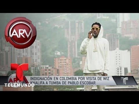 Wiz Khalifa causa indignación en Colombia | Al Rojo Vivo | Telemundo #1