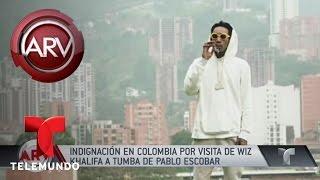 Wiz Khalifa causa indignación en Colombia | Al Rojo Vivo | Telemundo