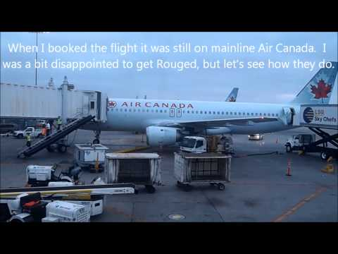 Air Canada Rouge Trip Report - LAX - YYC - Premium Rouge - Full Flight
